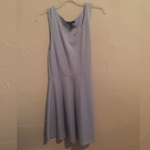 Baby Blue Skater Dress Forever21 XL *Fits tight*